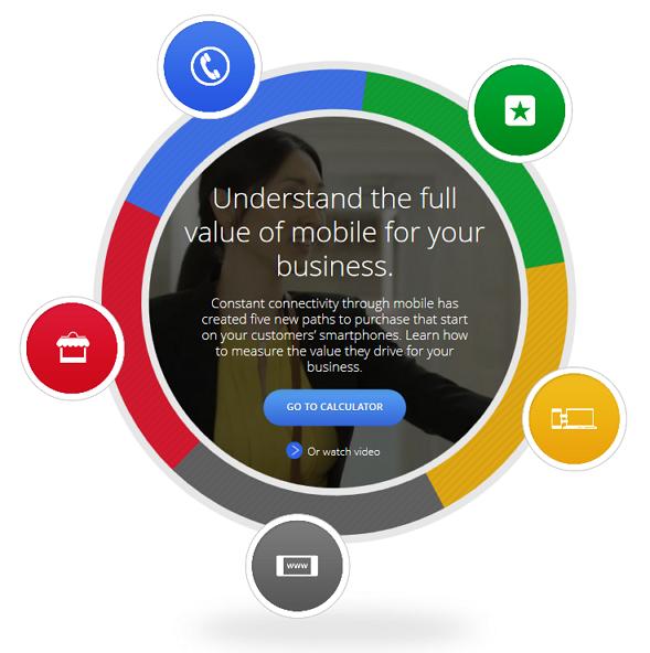 モバイルの「価値」を数値化できるウェブツールをGoogleが公開