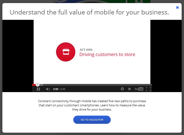 Understand the full value of mobile for your business_video
