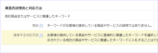 Yahoo!プロモーション広告における商標の掲載審査